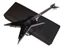 DEAN Razorback DB electric GUITAR Classic Black w/ CASE - DimeBag - B-stock