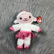 Ty Beanie Babies Disney Jr Doc Mcstuffins Lambie Lamb Plush