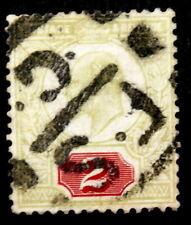 GB - 1902-11 : King Edward VII - 1 1/2p violet green, Scott# 130