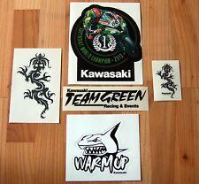 Kawasaki Drachen Superbike Sticker Set Ninja ZX10R Aufkleber Youngtimer Z 900RS