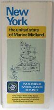 1975 NEW YORK MARINE MIDLAND BANK ROAD MAP                      (INV16644)