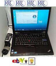 "Lenovo ThinkPad T410 Laptop Core i5 2.53GHz 14"" 4Gb 250Gb DVDRW WiFi BT FP W7-32"