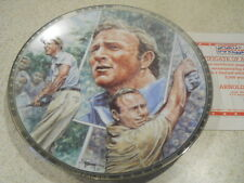 """1992 Sports Impressions Arnold Palmer 8 1/2"""" Platinum Edition Collector Plate"""