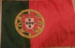 """18"""" x 12"""" POLYESTER PORTUGUESE COUNTRY FLAG OF PORTUGAL BOAT MOTORCYCLE SCOOTER"""