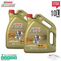 Castrol Edge Titanium 5W40 Synthetic Engine Oil - 10 Litres (2x 5L)