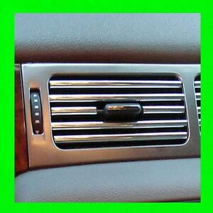 SATURN CHROME INTERIOR DASH/AC VENT TRIM MOLDING W/5YR WRNTY