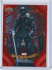 2017 UPPER DECK MARVEL SPIDER-MAN HOMECOMING RED PARALLEL#168/199