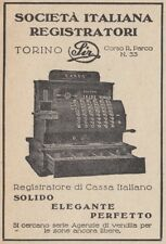 Z3585 SIR registratore di cassa italiano - Pubblicità d'epoca - 1927 advertising