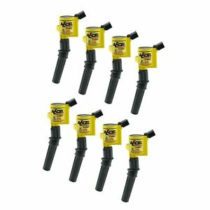 Accel 140032-8 Supercoil Ignition Coils 8 Pack for Ford 2 Valve Modular Engine