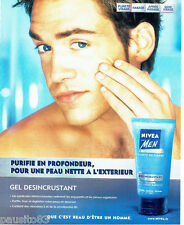 PUBLICITE ADVERTISING 056  2003  Nivéa  for Men  gel désincrustant