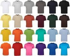 Mens Plain T-Shirt 1HT | Blank Tees, Casual | S M L XL 2XL 3XL 4XL 5XL 7XL 9XL