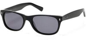 Kenneth Cole Polarized Men's Black Classic Sunglasses - KC7206 02D