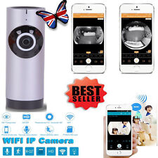 Panoramic View Home Security Camera Clever WiFi Monitor For iPhones Android
