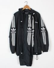 Vintage 80s 90s Adidas 2 Piece Track Suit Warm Up Jacket & Pants Mens S