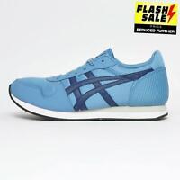 Asics Curreo ll Mens Retro Casual Running Gym Fashion Trainers Blue
