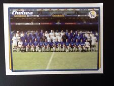 Merlin Football Sticker #104 2001-02 Chelsea Team Picture Mint Condition
