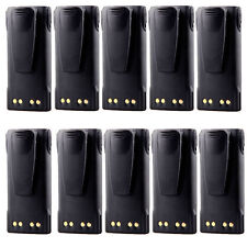 10 x 1300mah 7.4V Replace Battery For Motorola GP320 GP328 PR860 PRO5150 MTX950