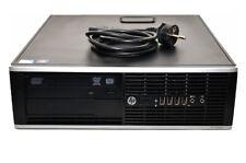 Ordinateur PC HP 6200 Pro SFF Intel G630@2,70GHz/4GB/500Go/Win10 Pro - Grade A