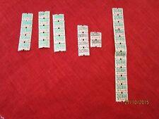 33 alte Papier Marken - 1 DM + 20 Pf - Marken bezeichnet: M.Franz KG   /S99