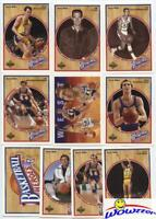 1992 Upper Deck Jerry West HEROES Complete 10 Card Set-LA LAKERS NBA HOF Legend