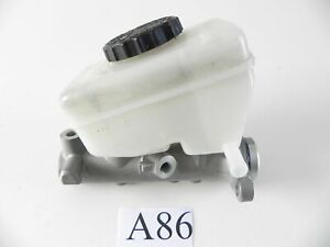 2003 LEXUS IS300 BRAKE BOOSTER MASTER CYLINDER WITH TANK RESERVOIR OEM 071 #A86