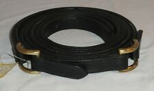 Pair 67� Ideal Equestrian Leather Carriage Driving Shetland Size D-Ring Traces
