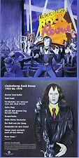 Udo Lindenberg: Revista de Rock 11 Songs,de 1978! Digital remasterizado! e CD!