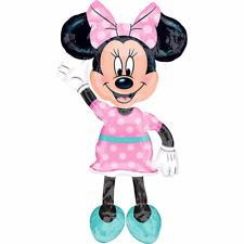 "Minnie Mouse Airwalker 54"" Jumbo Foil Balloon Birthday Party Decoration Supplies"