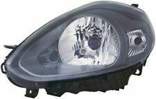Fiat Punto Evo 2009-2012 Black Front Headlight Headlamp N/S Passenger Left