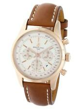 Breitling Transocean Chronograph RB0152 18k Rose Gold Mens Watch RB015212/G738