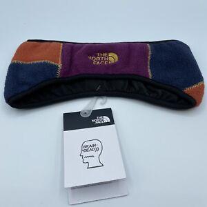 The North Face Brain Dead X Denali Fleece Headband Color Block Size L/XL New