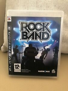 Rock Band (PS3) VideoGames Guitar PlayStation Video Game Music