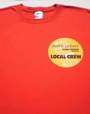 KEITH URBAN tour Local Crew XL concert T-SHIRT escape together