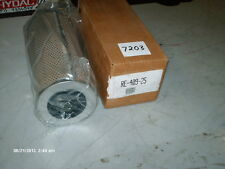 "Zinga Hydraulic Filter Cartridge P/N RE-409-25 4"" OD X 9"" Long (NIB)"