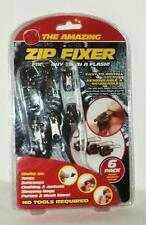 L'incredibile confezione da 6 piccoli medio e grande zip FISSATORE Set