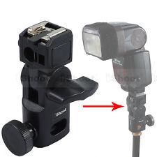 Mini Hot Shoe Mount Flash Bracket/Umbrella Holder for Canon Nikon Speedlight-HOT
