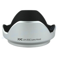 Silver Lens Hood for OLYMPUS M.ZUIKO DIGITAL ED 12-50mm 1:3.5-6.3 EZ as LH-55C