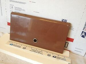 Studebaker glove box door, Used, 57 to 59.     Item:  4689