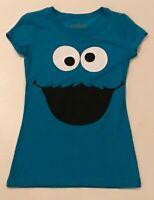 Junior's Cookie Monster Shirt Small S NEW Sesame Street