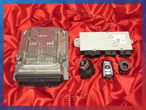 BMW F07 F01 F02 F03 5 7'ies 5.0i N63 Engine ECU SET DME MSD85 CAS KEY START/STOP