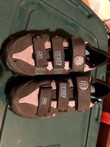 Bontrager - Size 7 - Race Mountain Bike Shoes MTB Inform Esole Gray Blue Women's