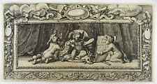 1679 Joh. SANDRART - Vignette ART Ornamental - Master engraving