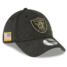 2020 Las Vegas Raiders New Era 39THIRTY NFL Salute To Service Sideline Cap Hat