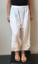 7a7a249ff1348 White Linen Trousers for Women