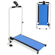 Faltbares Laufband Heimtrainer Fitnessgerät elektrisch mit LCD Display Jogging