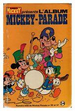 MICKEY PARADE  ALBUM N° 34 DE 1984 BE N° 56 57