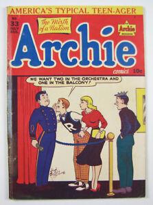 Archie Comics Golden Age Comic Book Vol. 1 #33 1948