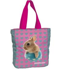 Hanadeka Club by Yoneo Morita Tote Bag with Bunny Rabbit Motif