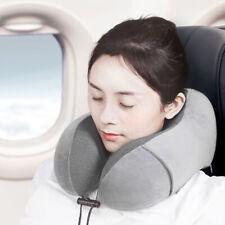 IG_ FT- Portable U Shape Memory Foam Cushion Neck Rest Support Travel Flight Nap