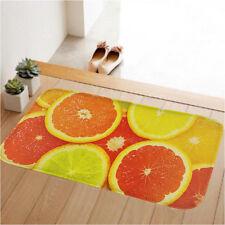 Orange Doormat Non Slip Floor Rug Door Mat Kitchen Entrance Bedroom Carpet